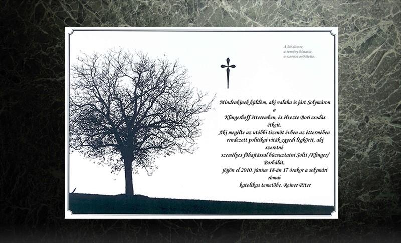 gyászjelentés idézetek versek e Gyászjelentés   Temetkezés szolgáltatás